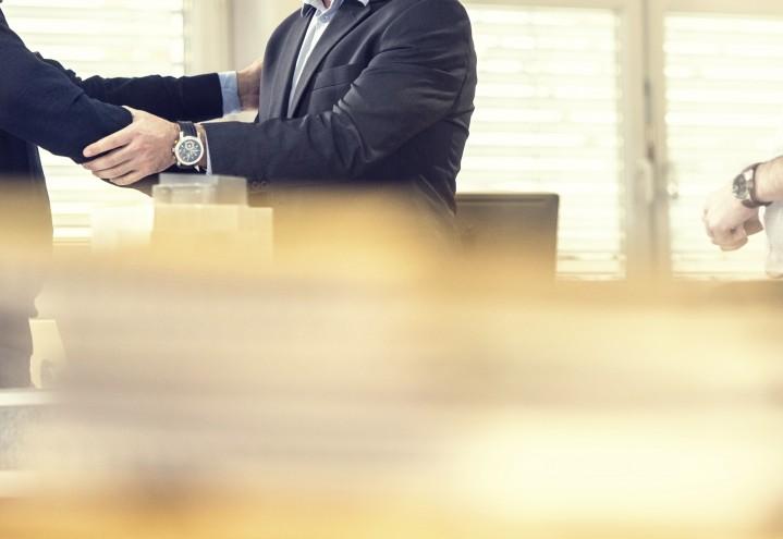 Advokat på drøftelsesmøte